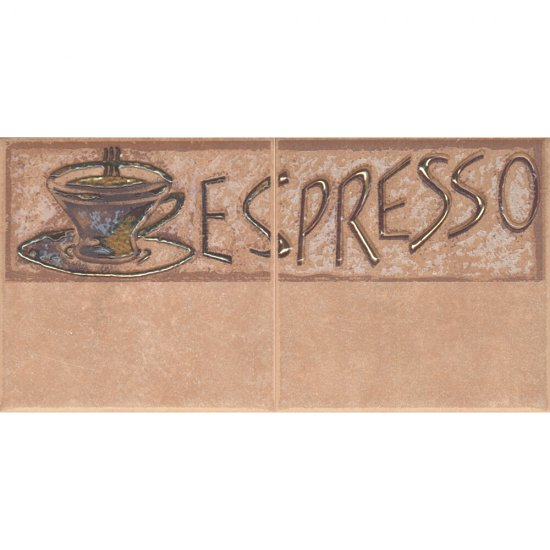 Płytka ścienna SAGRA orzech kompozycja coffee 1 mat 10x20 gat. I