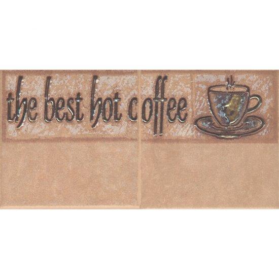 Płytka ścienna SAGRA orzech kompozycja coffee 2 mat 10x20 gat. I