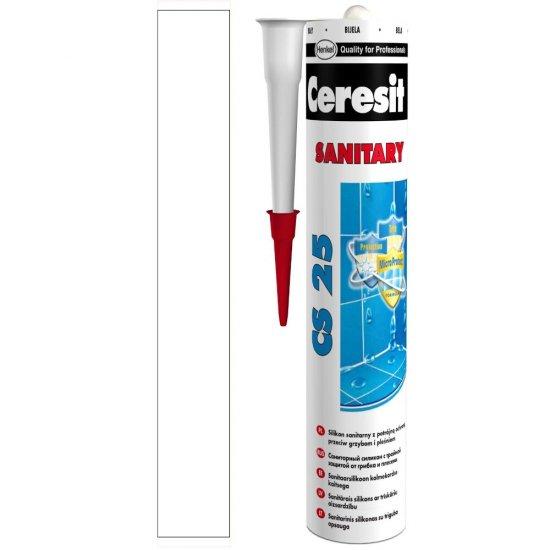 Silikon sanitarny CERESIT CS 25 marble white 280 ml