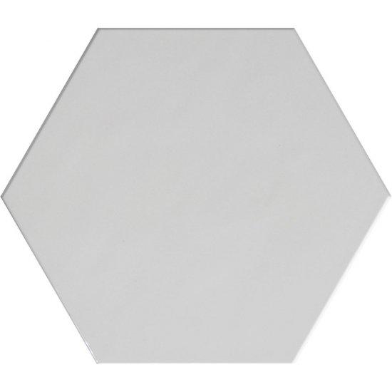 Płytka hiszpańska ścienna heksagonalna CEUTA biała 20