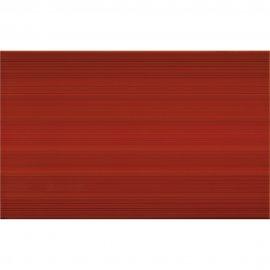 Płytka ścienna LORIS czerwona struktura błyszcząca 25x40 gat. I