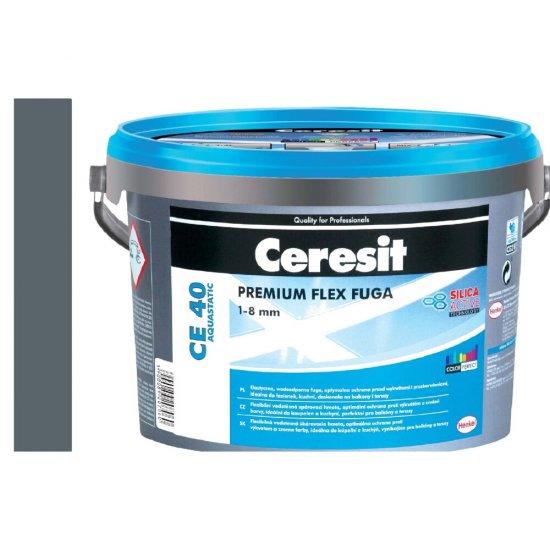 Fuga elastyczna CERESIT CE 40 iron grey 2 kg
