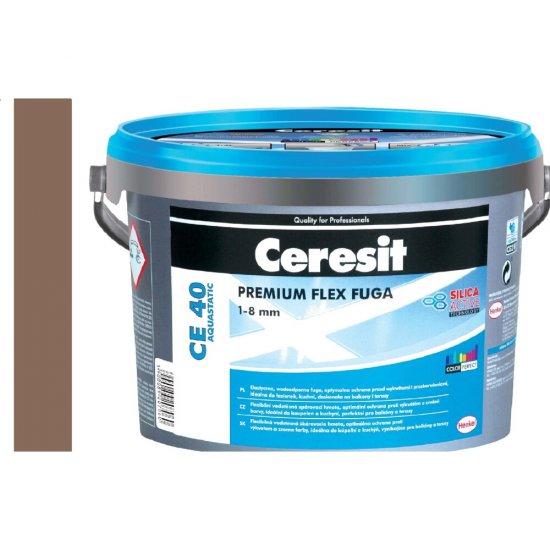Fuga elastyczna CERESIT CE 40 almondtree brown 5 kg