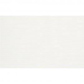 Płytka ścienna NEGRA biała paski błyszcząca 25x40 gat. I