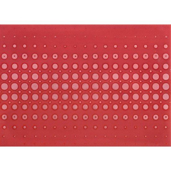 Płytka ścienna OPTICA czerwona inserto modern błyszcząca 25x35 gat. I