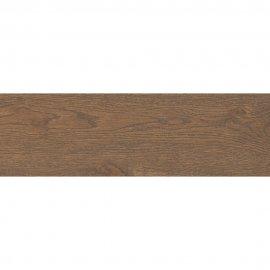 Gres szkliwiony ROYALWOOD brązowy mat 18,5x59,8 gat. II