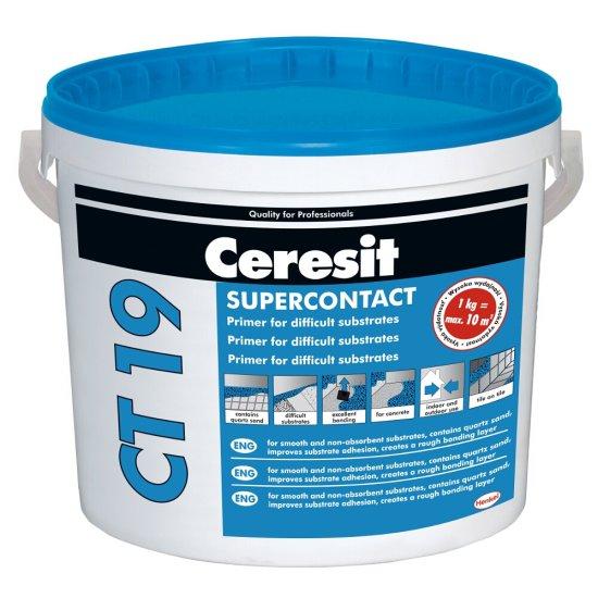 Grunt do trudnych podłoży CERESIT CT 19 SUPERKONTAKT 5 kg