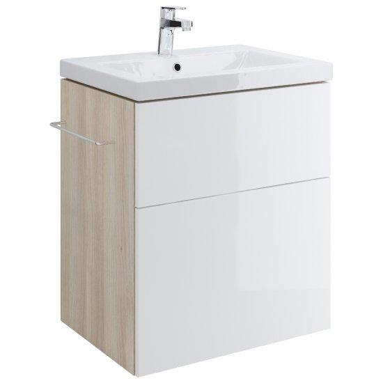 Szafka podumywalkowa SMART biała pod umywalki COMO / COLOUR / AMAO / ZURO 60