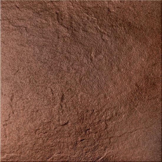 Klinkier SOLAR brązowy 3-D połysk 30x30 gat. I