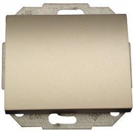 Łącznik modułowy NOVA światło/dzwonek z podśw. WP-6/7NS satyna Abex