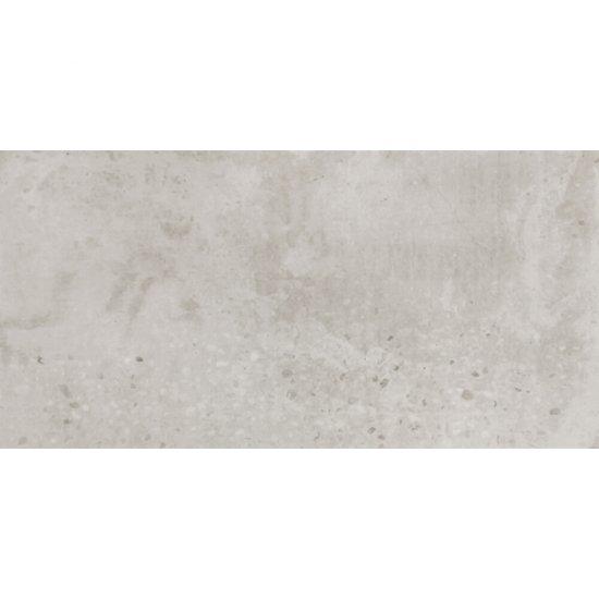 Gres szkliwiony RECLAIMED CONCRETE biały mat 29,8x59,8 gat. II