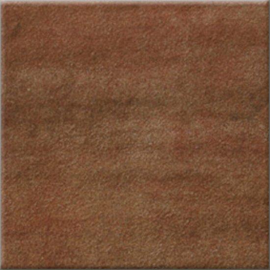 Gres szkliwiony REAL COTTO brązowy mat 10,9x10,9 gat. I