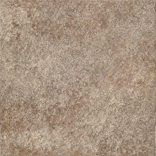 Gres szkliwiony ETERNO brązowy mat 42x42 gat. II