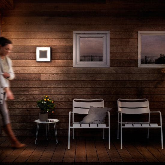 Kinkiet ogrodowy SAND 1xLED 17294/93/16 Philips