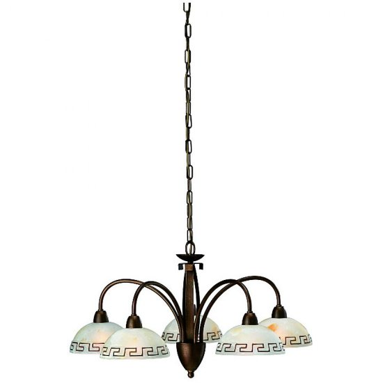 Lampa wisząca DOCU 5xE14 36376/43/10 Philips-Massive