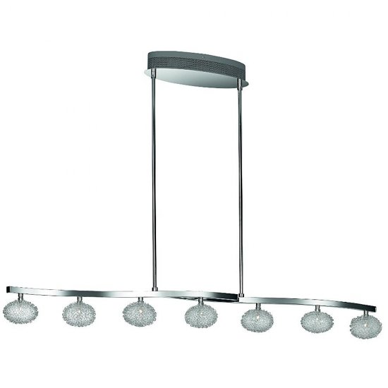 Lampa wisząca Bellasio chrome 7x20W 12V 40677/11/10 Philips-Massive