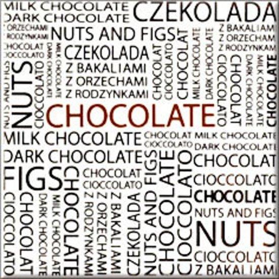 Płytka ścienna MONTANA biała inserto chocolate błyszcząca 10x10 gat. I
