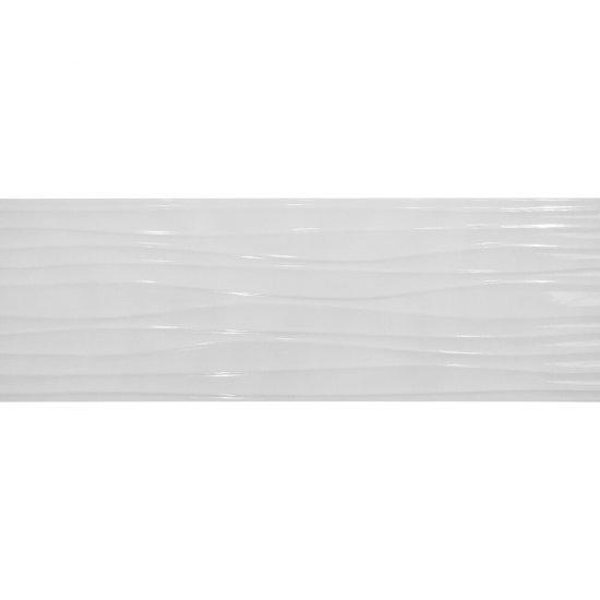 Płytka hiszpańska ścienna MATARO biała 25x70