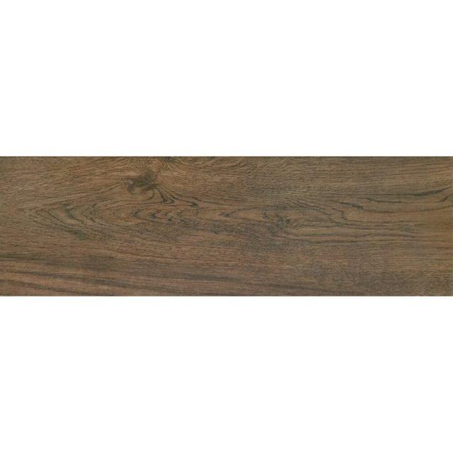 Gres szkliwiony GRYFFIN brązowy mat 18,5x59,8 gat. II