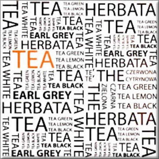 Płytka ścienna MONTANA biała inserto tea błyszcząca 10x10 gat. I