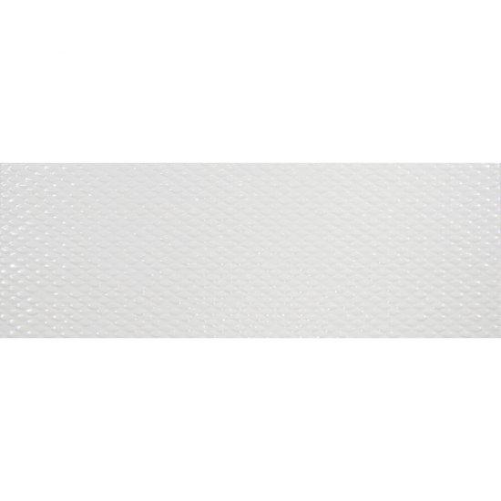 Płytka hiszpańska ścienna TARRAGONA biała 25x70