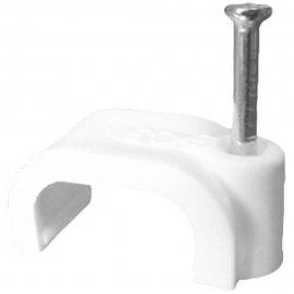Uchwyt kablowy wbijany z gwoździem FLOP-5/4 100szt Elektro-Plast