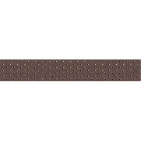 Płytka ścienna BARICELLO brązowa listwa classic błyszcząca 7x45 gat. I