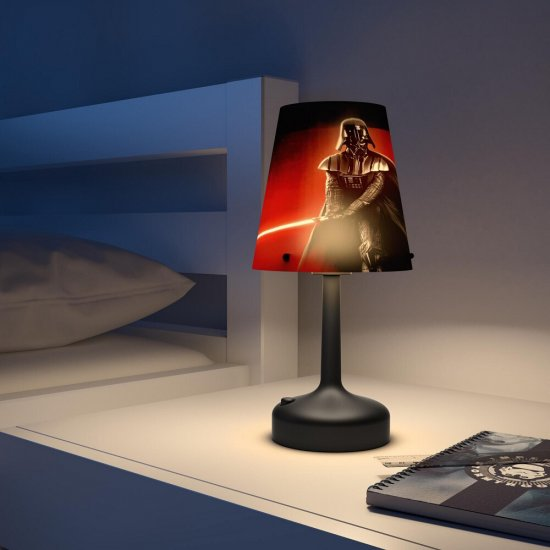 Lampa dziecięca LED DARTH VADER 71889/30/16 Philips