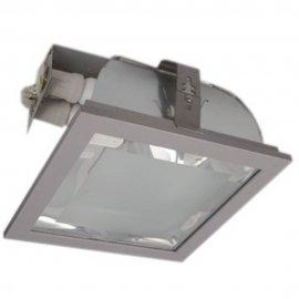 Oprawa downlight ENZO 226 2xE26 srebrna Brilum