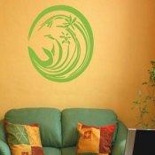 Naklejka dekoracyjna welurowa ornament 679020-5 Klimaty Domu