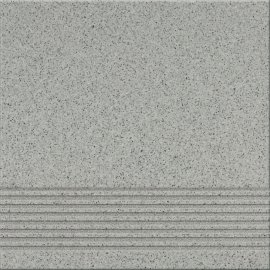 Gres techniczny KALLISTO szary k9 stopnica mat 29,7x29,7 gat. II