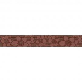 Płytka ścienna CALVANO brązowa listwa błyszcząca 5x35 gat. I