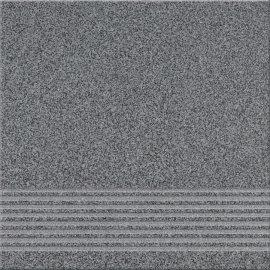 Gres techniczny KALLISTO grafitowy k10 stopnica mat 29,7x29,7 gat. II