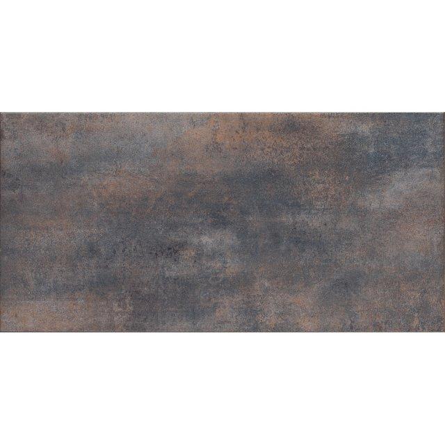 Gres szkliwiony STEEL czarny mat 29,7x59,8 gat. II