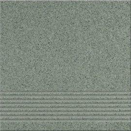 Gres techniczny KALLISTO zielony k7 stopnica mat 29,7x29,7 gat. II