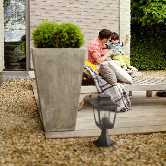 Lampa ogrodowa stojąca HEDGE 1xE27 15402/86/16 Philips