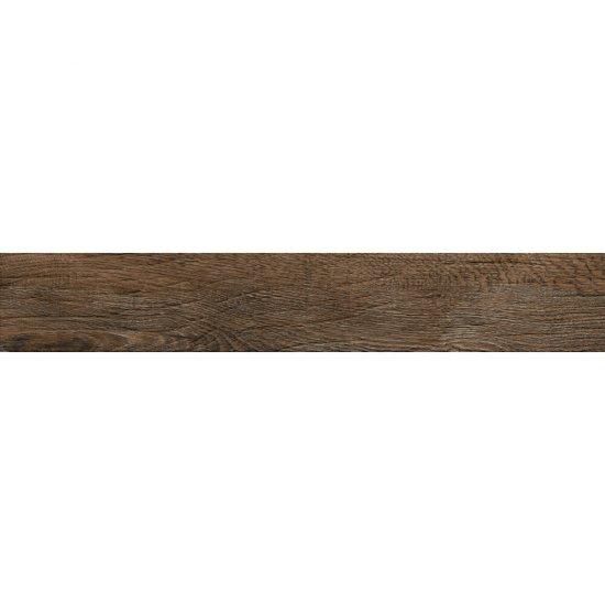 Gres szkliwiony LEGNO RUSTICO brązowy mat 14,7x89,5 gat. I