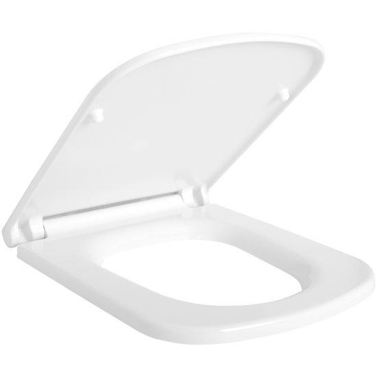 Deska sedesowa COLOUR duroplastowa antybakteryjna wolnoopadająca