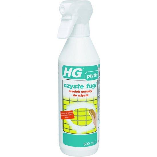 Środek czyszczący HG czyste fugi – gotowy do użycia 0,5 l