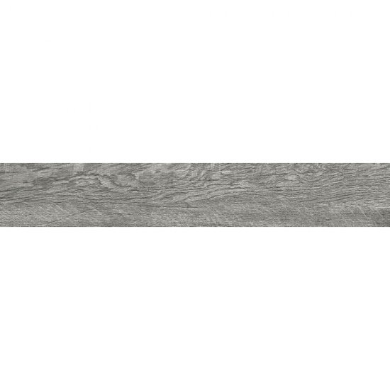Gres szkliwiony LEGNO RUSTICO szary mat 14,7x89,5 gat. I