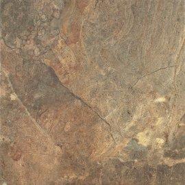 Gres szkliwiony RUSTYK brązowy kamień mat 42x42 gat. I