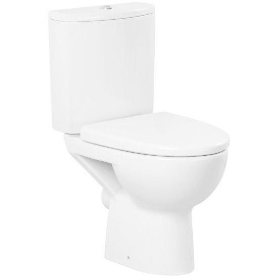 Kompakt WC 216 PARVA deska duroplastowa antybakteryjna wolnoopadająca