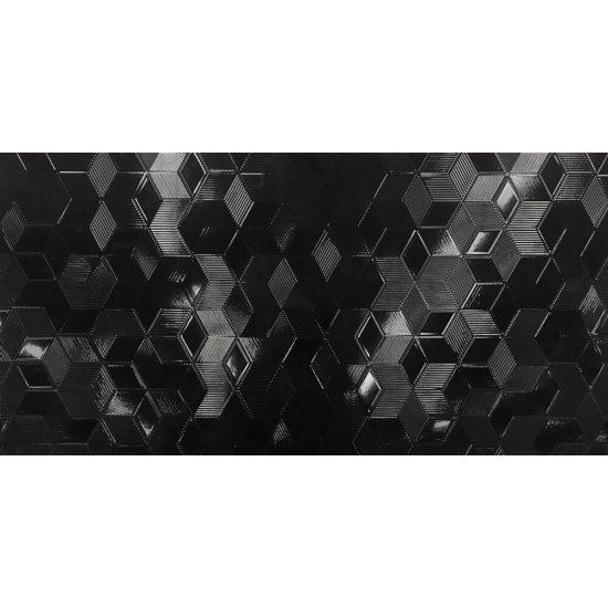 Płytka ścienna MICRO STYLE czarna mikrostruktura 29,8x59,8 gat. II