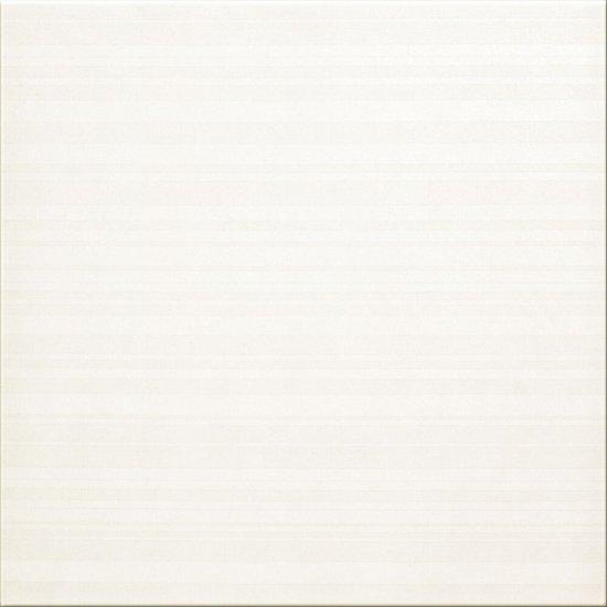 Gres szkliwiony ORGANZA biały mat 29,7x29,7 gat. I