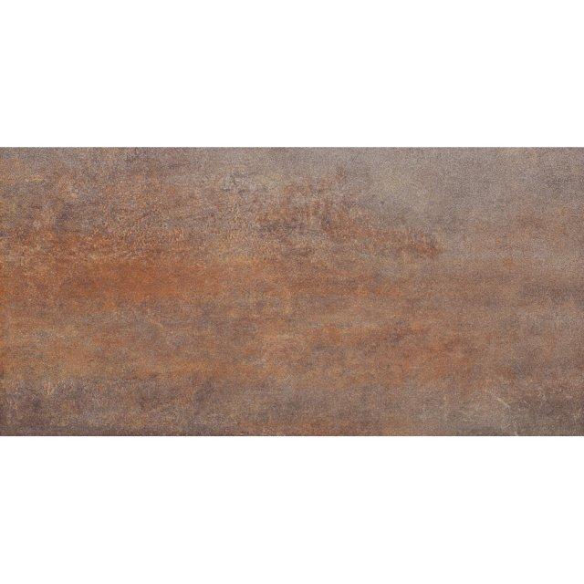 Gres szkliwiony STEEL brązowy mat 29,7x59,8 gat. I