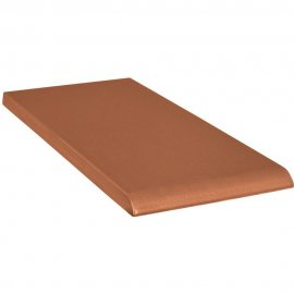 Klinkier SIMPLE RED czerwony parapet C mat 10x20 gat. II