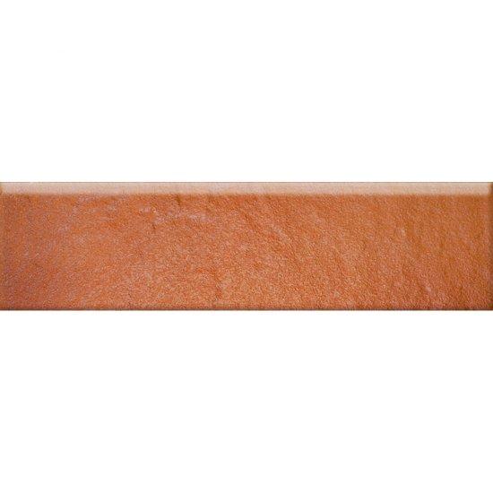 Klinkier SOLAR pomarańczowy cokół 3-D mat 8x30 gat. II