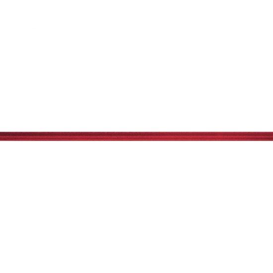Płytka ścienna MODENA czerwona listwa szklana 2x60 gat. I
