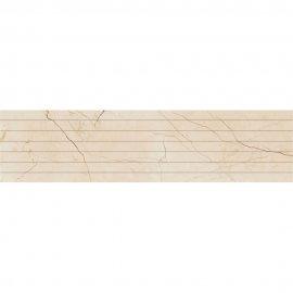 Gres szkliwiony PLAYA kremowy listwa linie poler 22,2x89,5 gat. I