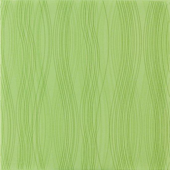 Płytka podłogowa FELINO zielona błyszcząca 33,3x33,3 gat. II